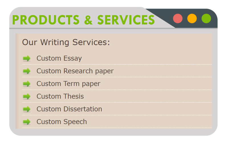 Products and Services from Effective Papers